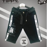 jeans capri-black