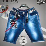 jeans capri-blue